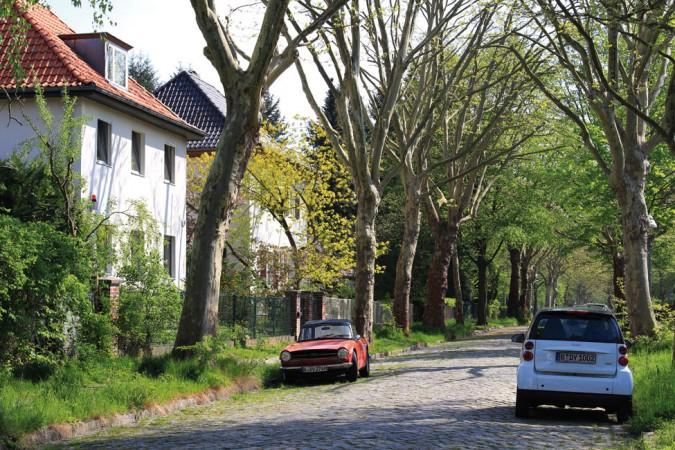 Hier geht es ruhig zu – Spirdingseestraße in Berlin-Lichtenrade © Sebastian Rittau  / flickr.com CC BY 2.0