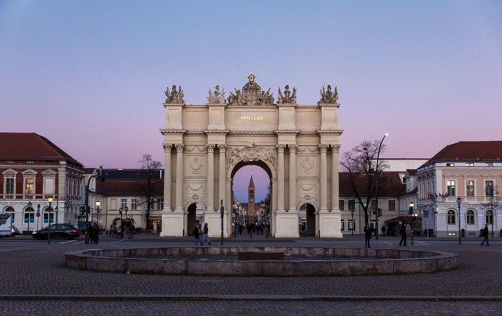 Potsdam Brandenburger Tor © Alexander Steinhof Lizenz: