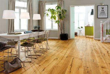 """""""Ein Parkettboden sorgt für mehr Natürlichkeit in den eigenen vier Wänden"""". © vdp/Haro"""