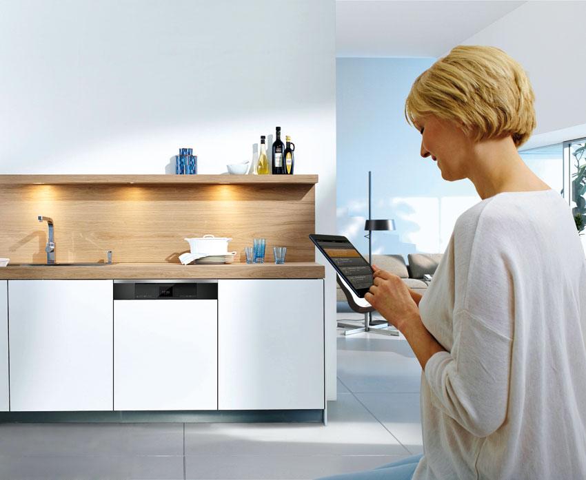 die k che goes smart exklusiv immobilien in berlin. Black Bedroom Furniture Sets. Home Design Ideas