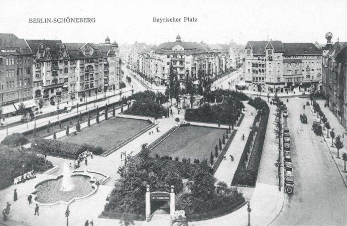 Bayrischer Platz 1910, Foto: unbekannt © MTS