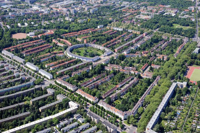 Die Hufeisensiedlung in Berlin Britz, Bezirk Neukölln © Deutsche Wohnen AG