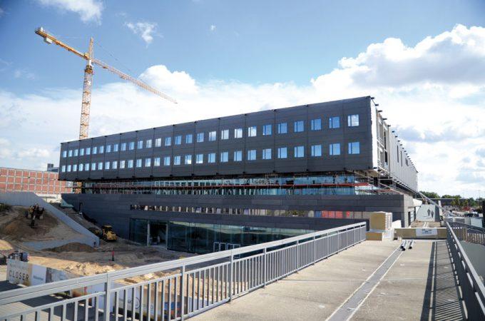CityCube Berlin: Baustelle © Messe Berlin