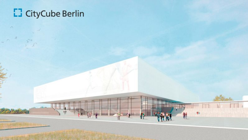 CityCube Berlin: Haupteingang © Messe Berlin