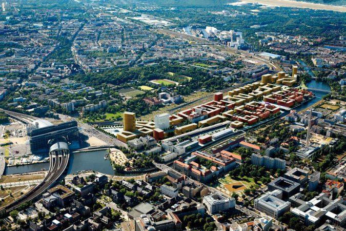 Visualisierung Baumassen Europacity Berlin, © CA Immo Deutschlnad