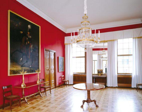 Schloss Glienicke - Roter Saal, R. 241 © Leo Seidel / Stiftung Preußische Schlösser und Gärten Berlin-Brandenburg