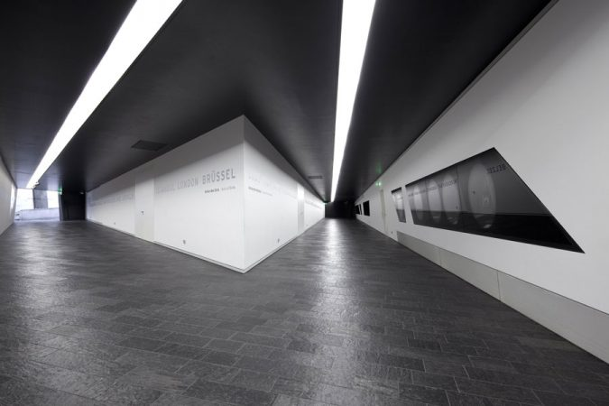 Innenansicht Jüdisches Museum Berlin, die Achsen © Thomas Bruns