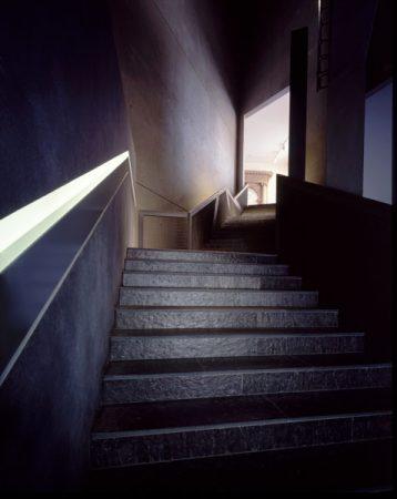 Übergang vom Libeskind-Bau zum Altbau © Jens Ziehe
