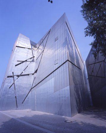 Außenansicht Jüdisches Museum Berlin, Fassade Libeskind-Bau © Jens Ziehe