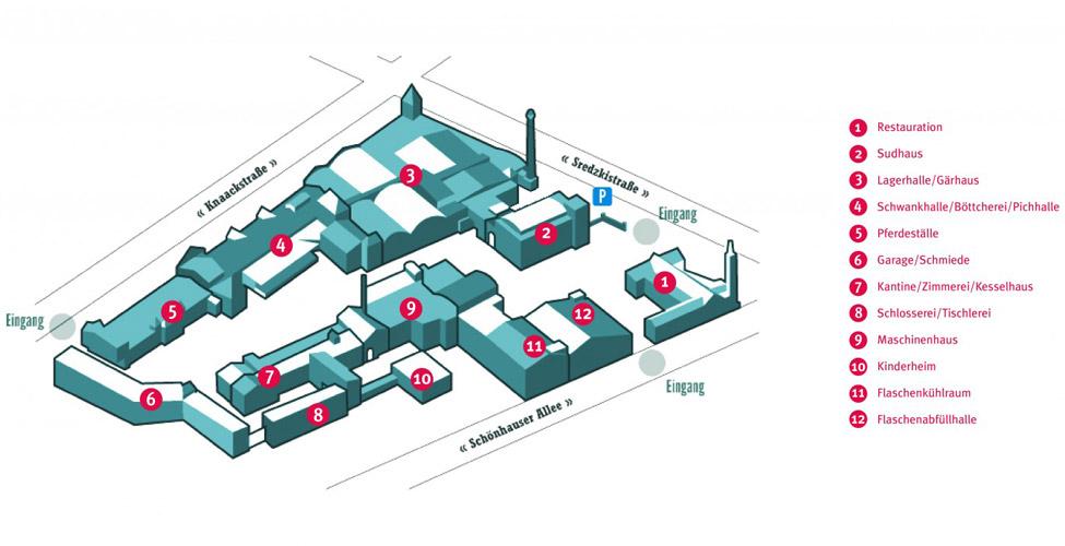 Kulturbrauerei-Karte Kulturbrauerei
