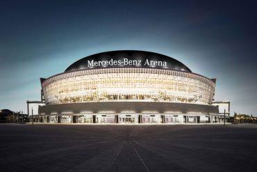 Mercedes-Benz Arena Berlin: Mercedes-Benz und die Anschutz Entertainment Group erweitern ihre Partnerschaft © Anschutz Entertainment Group