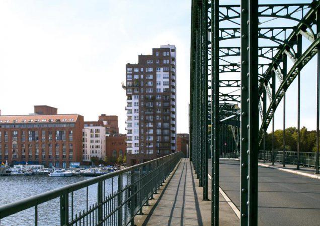 Blick von der Eiswerder-Brücke © C.Bender-Saebelkampf
