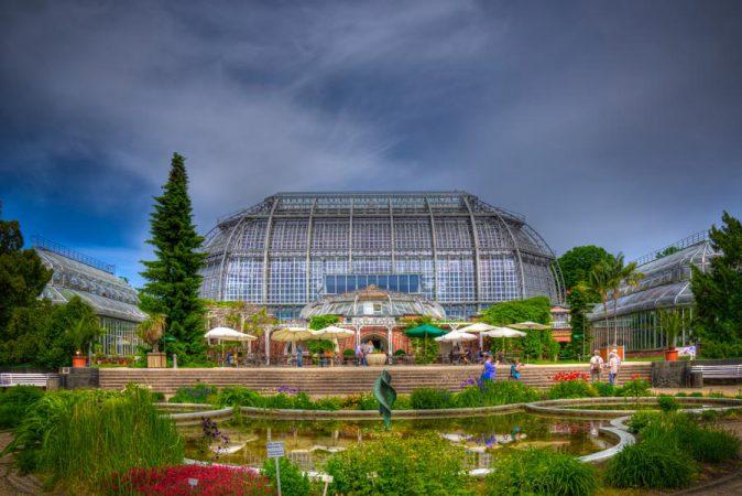 Das Subtropenhaus im  Botanischen Garten Berlin-Dahlem © Sebastian Rittau / flickr.com