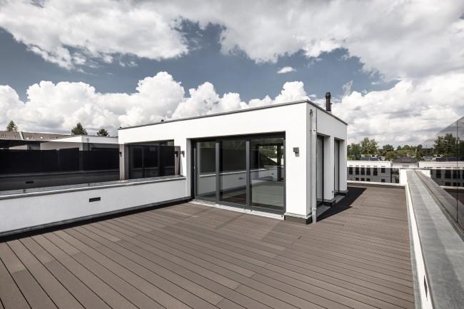 exklusive Dachterrasse © EUCON Europäische Consulting AG