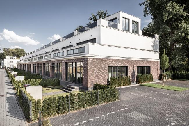 Ansicht Townhouses © EUCON Europäische Consulting AG