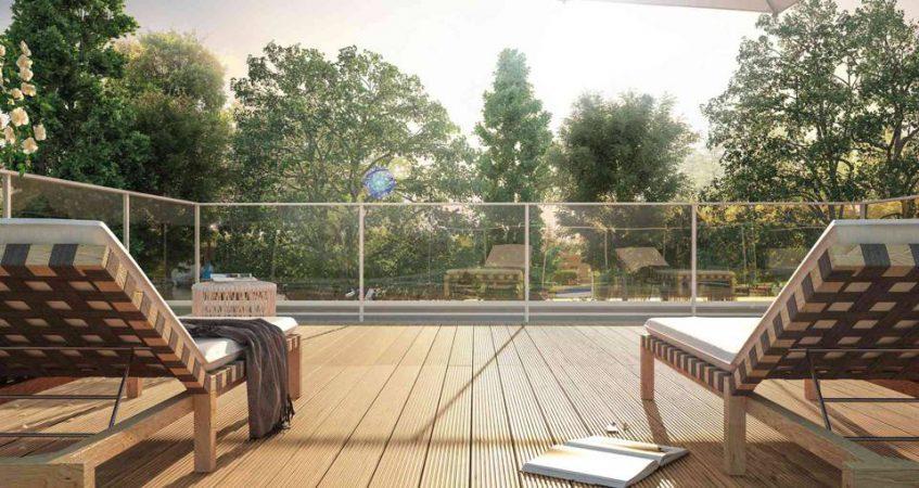 Baumgartenufer • Terrasse