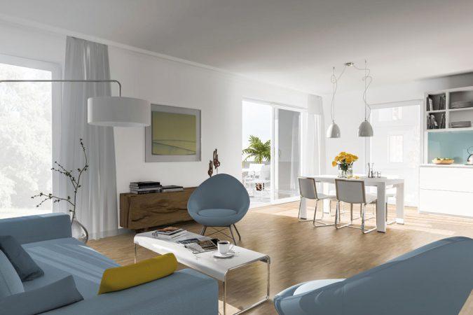 Villen Prinzenviertel • Wohnzimmer