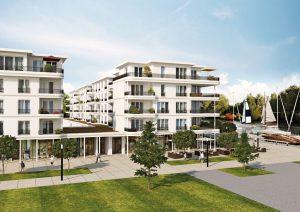 RIVA-Werder-Maritim-Aussenperspektive-2-300x212 Wohnen am Wasser in Berlin-Brandenburg