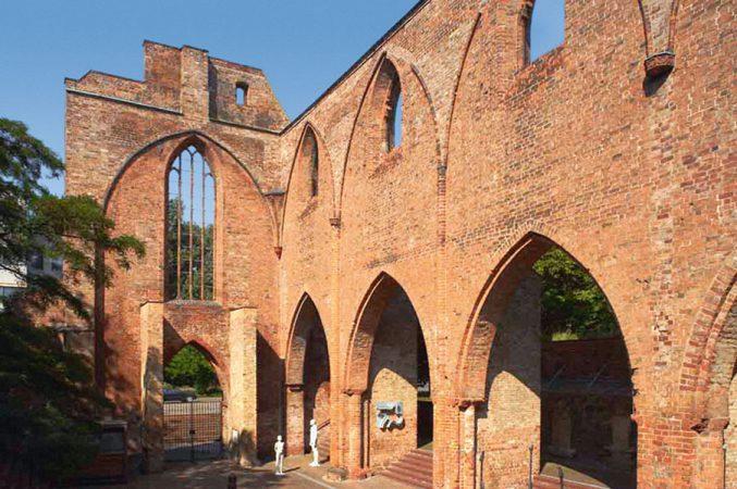 Die Ruine der Klosterkirche  © Günter Schneider