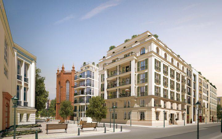 Kronprinzengärten • Haus 1 & 11 • Imposante Erscheinung – die aufwendig strukturierte Fassade des Eckgebäudes.