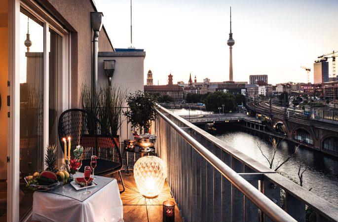 Ausblick von C/O MITTE © PROJECT Immobilien Wohnen AG