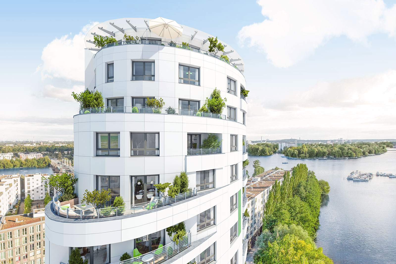 Wohnen am wasser in berlin brandenburg exklusiv for In immobilien