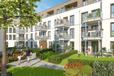 """Vergangene Woche wurde der Verkauf des Neubauensembles """"La Vie"""" in Berlin-Marienfelde erfolgreich abgeschlossen. © PROJECT Immobilien Wohnen AG"""