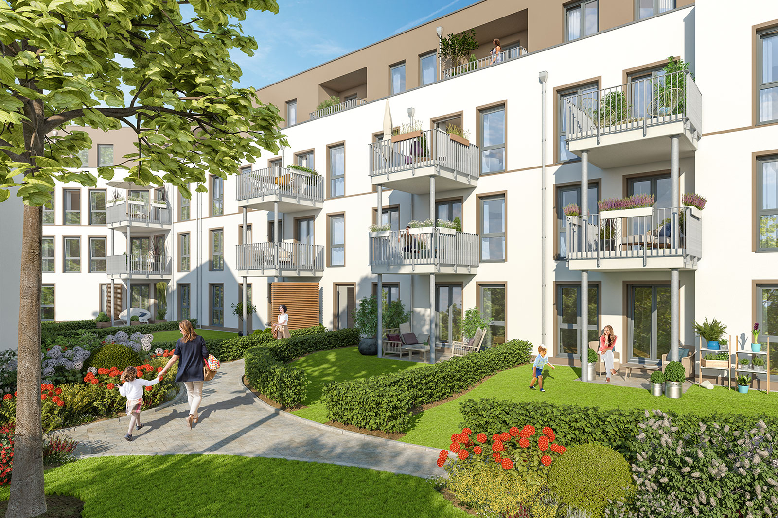 verkauf von 33 eigentumswohnungen in berlin marienfelde. Black Bedroom Furniture Sets. Home Design Ideas