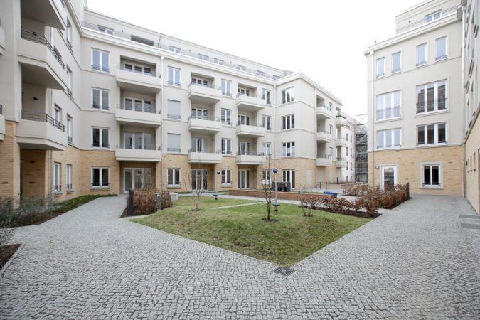 Speicherstadt Potsdam • innenhof • © Living in Berlin e.K.