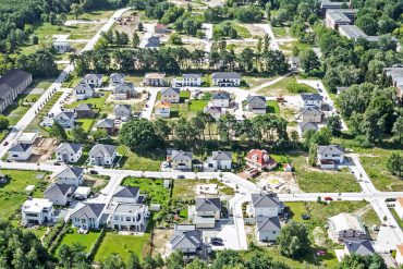 Eucon Villenpark Luftaufnahme