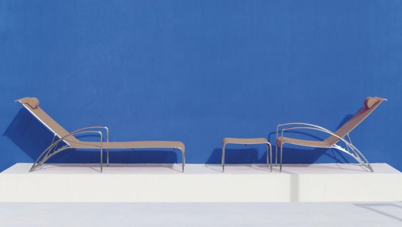 Puristisches Design: Liege QT LOUNGER von Royal Botania • © WHO'S PERFECT