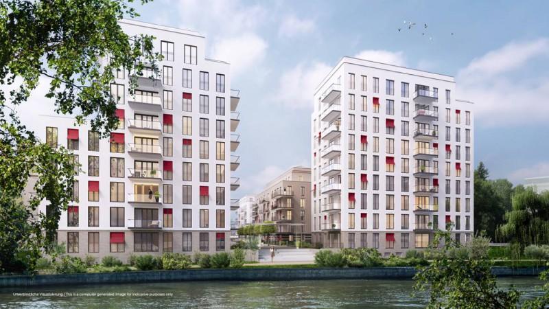 No. 1 Charlottenburg • Wasseransicht © ZIEGERT – Bank- und Immobilienconsulting GmbH