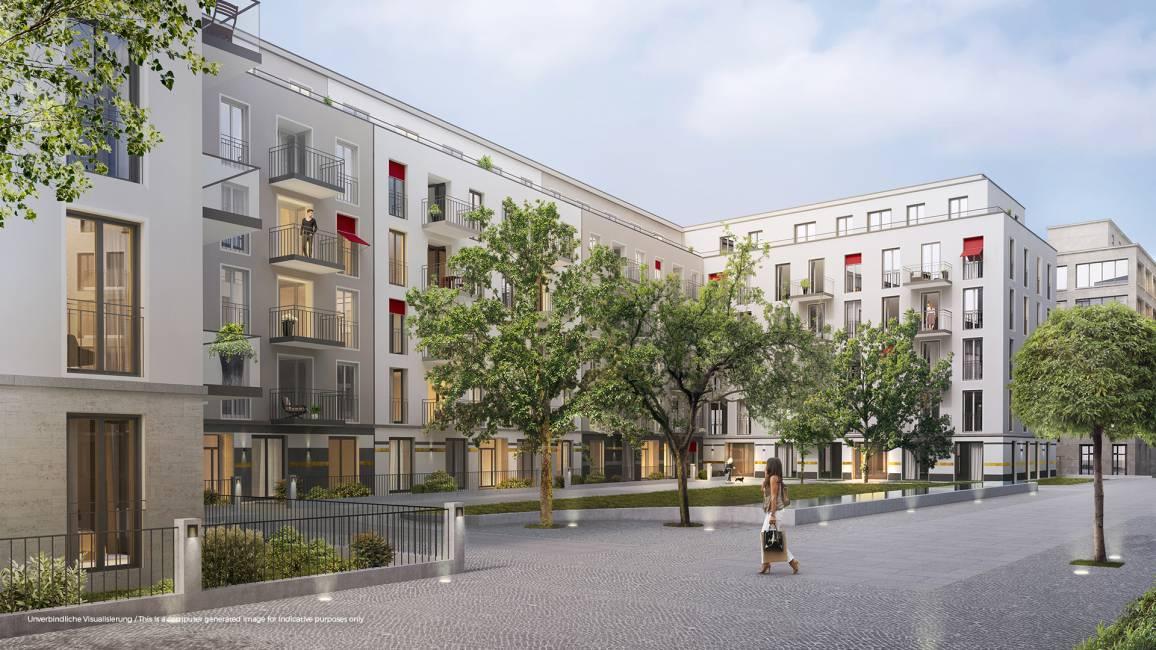 No. 1 Charlottenburg • Hofansicht © ZIEGERT – Bank- und Immobilienconsulting GmbH