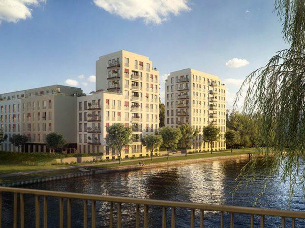 Uferzugang • No.1 Charlottenburg • © ZIEGERT – Bank- und Immobilienconsulting GmbH