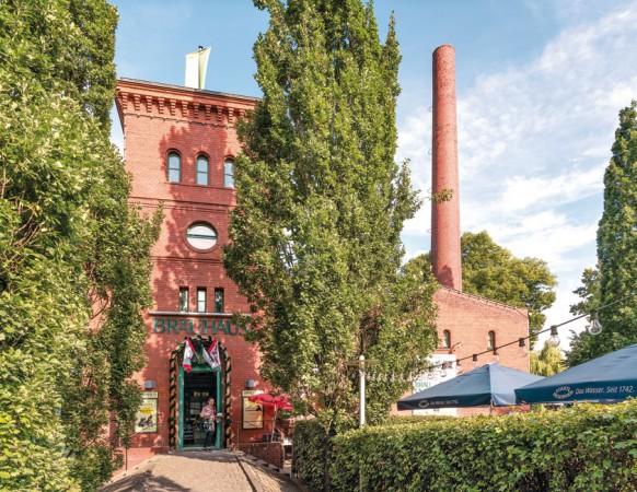 Das Brauhaus in Spandau ist zugleich Gasthaus, Brauerei, Hotel und Veranstaltungsort. © Project Immobilien