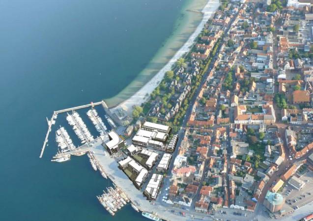 Hafenspitze • Luftbild • © Penta Gruppe