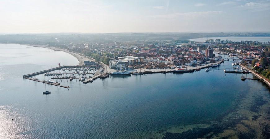 Hafenspitze in Eckernförde • Panorama • © Penta Gruppe