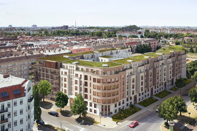 nio • Ansicht Bornholmer Straße • © David Borck Immobilien