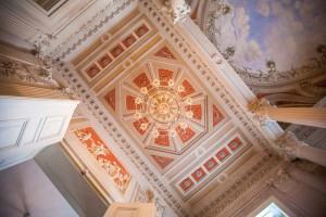Schloss-Friedrichsfelde-Deckenmalerei-1-300x200 Das Schloss Friedrichsfelde