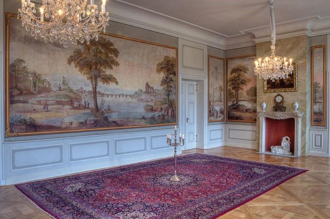 Heute finden im Schloss regelmäßig Konzerte und Veranstaltungen statt. • © Eddy Raschke