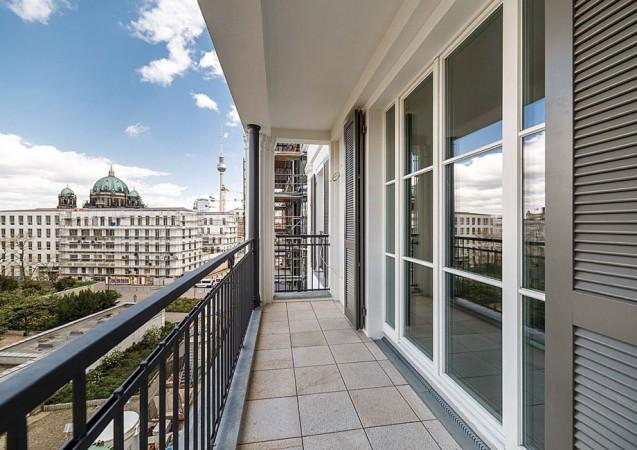 Aussicht auf den Neubai des Berliner Stadtschloss © ZIEGERT – Bank- und Immobilienconsulting GmbH / Bauwert Aktiengesellschaft