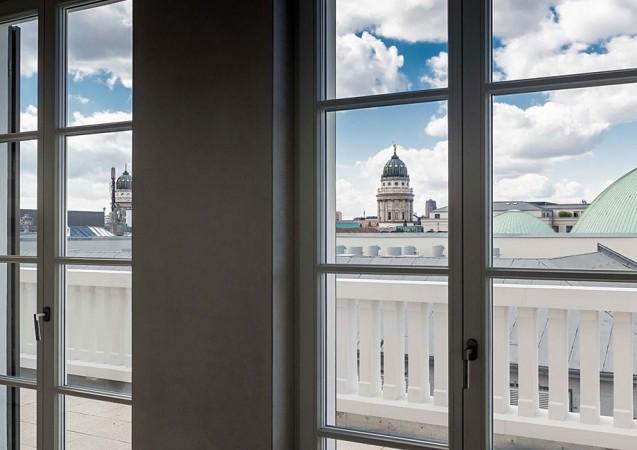 Aussicht auf Französischen Dom © ZIEGERT – Bank- und Immobilienconsulting GmbH / Bauwert Aktiengesellschaft