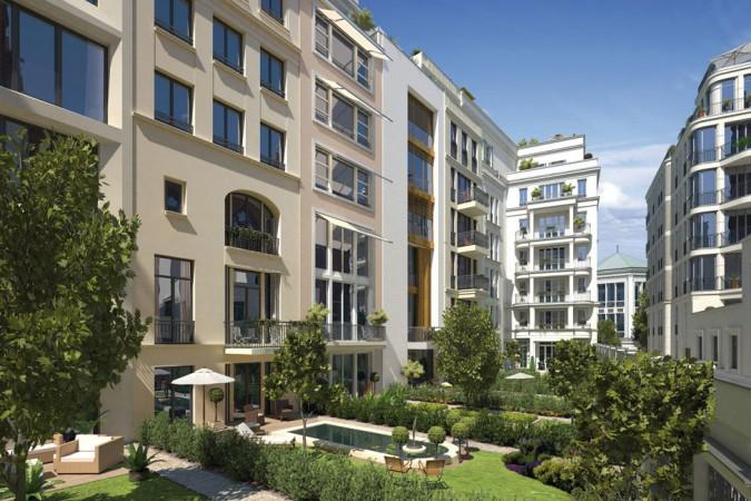 Innenhof Kronprinzengärten © ZIEGERT – Bank- und Immobilienconsulting GmbH / Bauwert Aktiengesellschaft