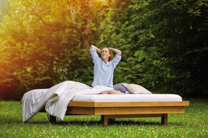 SAMINA Schlafsysteme sind bereits in über 50 Luxus- und Wellnesshotels sowie in über 100.000 Privathaushalten zu Hause © SAMINA