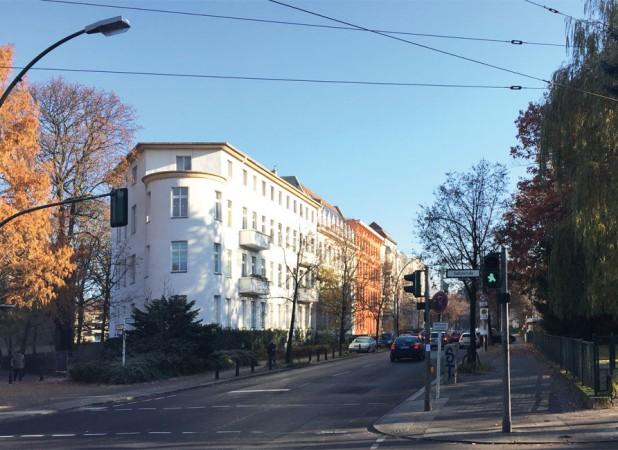 Blick in die Damerowstraße © S. Weckeßer