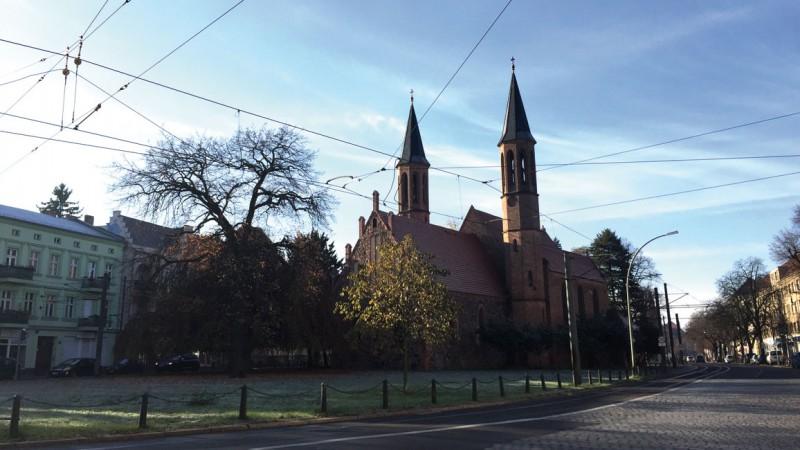 Die Pfarrkirche Pankow © S. Weckeßer