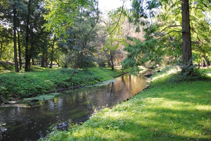 """Idylle im Schlosspark """"Schlosspark"""" von CC BY 2.0"""