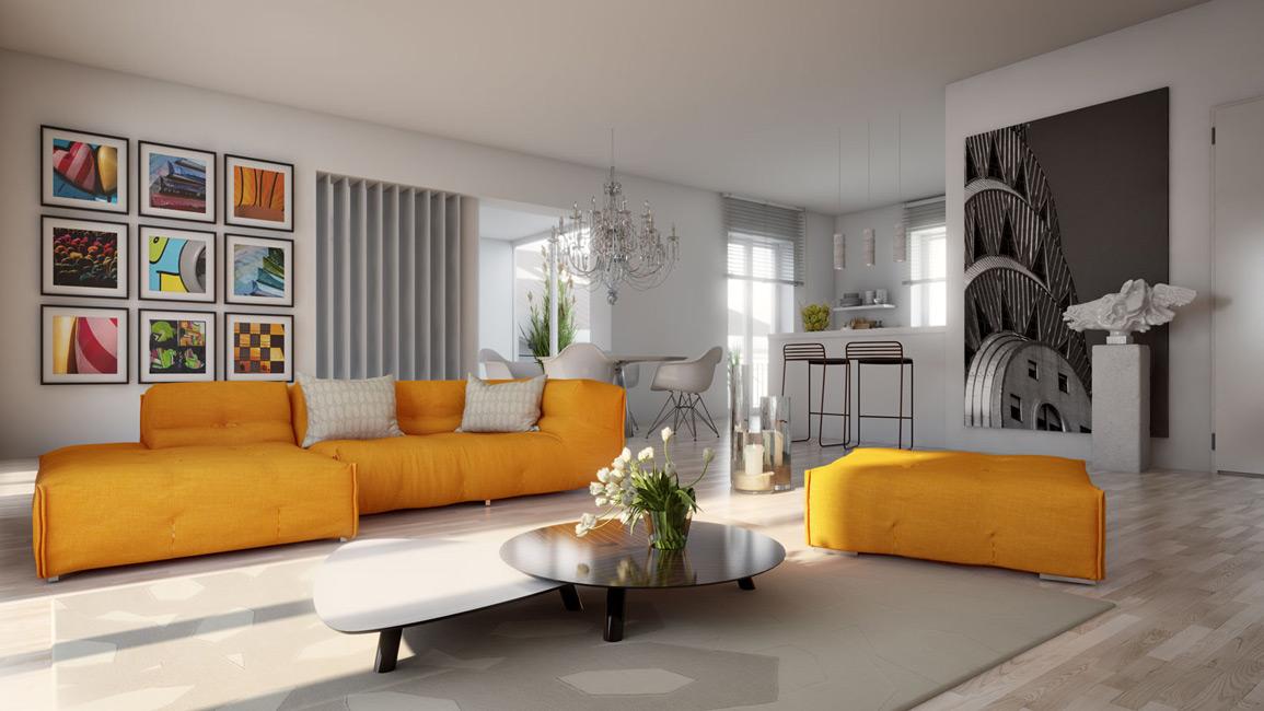 Wohnzimmer C CESA Unternehmensgruppe