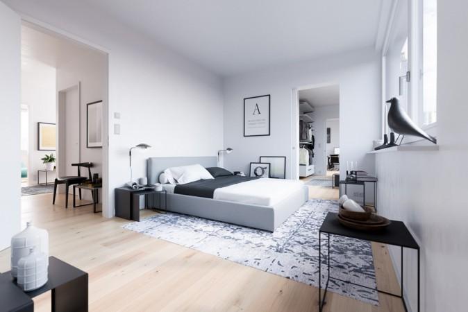 NeuHouse Visualisierung • Neubauwohnung © David Borck Immobiliengesellschaft