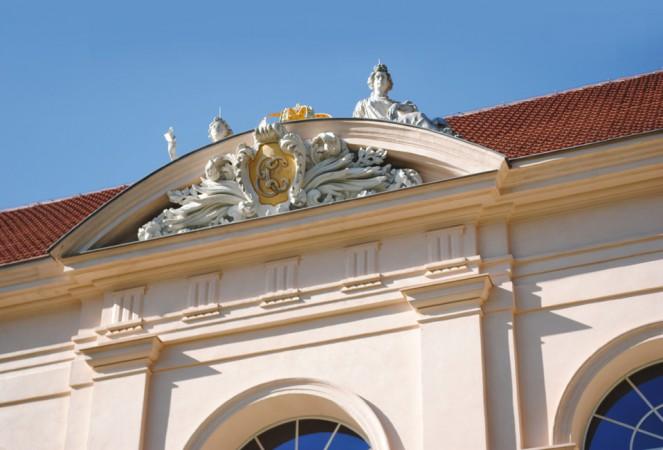 """""""Dach Pankow Schloss"""" von CC BY 2.0"""